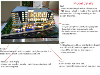 Commercial Residential Building Model Cad / 3D Max Drawing Warm LED Light