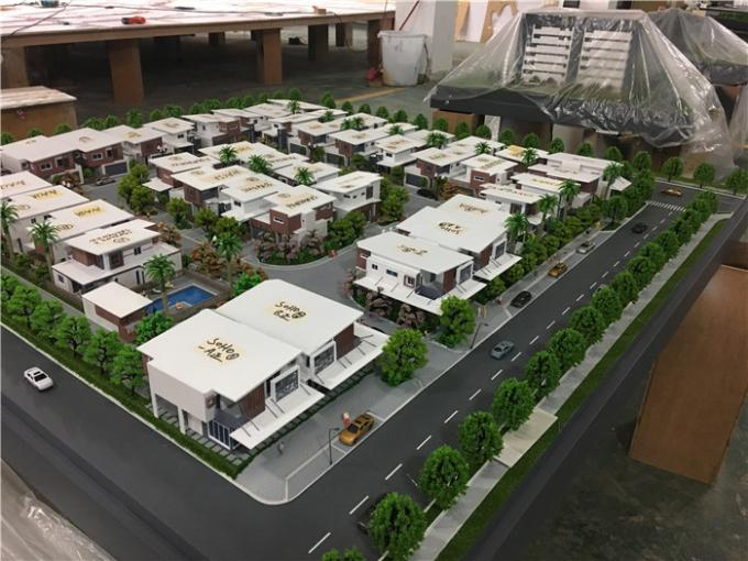 1.9x1.6m Architecture House Model / 3d Maquette Residential House For Australian Townhouses