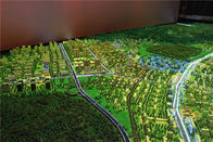 Renderings Color Miniature City Model , Exhibition Use Small City Model