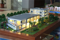 China 1 / 100 Scale Villa 3D Model Villa Resort Type Painted / Layered Color factory