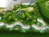 Exhibition Use Commercial Building Model Large Scale Villa Resort Style