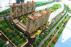 China High Rise Miniature Architectural Models , Fancy 3D Max Building Modeling factory