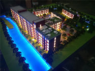 China Commercial Miniature Architectural Models UK Residential Building Style factory