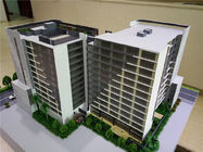 China Miniature Scale Apartment Building Model Acrylic Plastic Material 1 . 2 * 0 . 8M factory