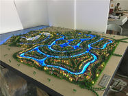 China Real Estate Mockup ABS Miniature Architectural Models For Master Villa Size 2.8x2.2m factory