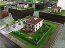 China 80x80cm Diorama Architect Model For Single Villa , Market Scale 3d Model For Real Estate factory