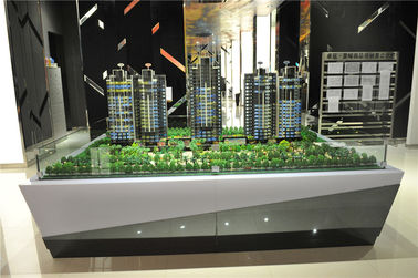 Machine Cut Architectural Scale Models With Lifting System 2 * 2 . 5M