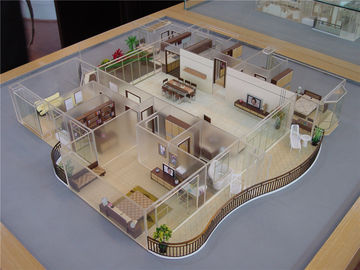 Interior House Plan 3D Model , Commercial Architectural Home Design 3d Models
