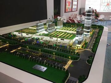 China Commercial Shopping Mall Model , 1 / 50 Scale Construction Scale Models factory