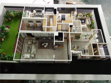 China 1 / 50 Unit Architectural Interior Models , Handmade Architectural Models factory