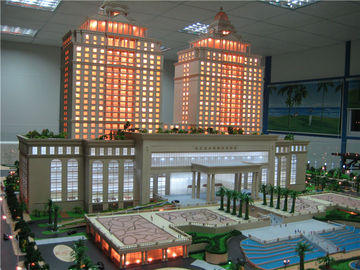 Environmental Architecture Model Building For Hotel  , 3d Print Mini Model