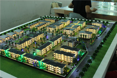 China 120x160cm Mini Architecture Models For Apartment Exterior And Interior factory
